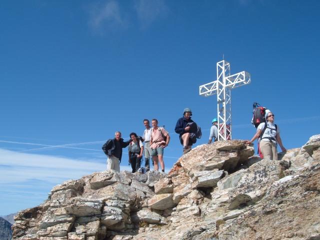 In cima al Pelvo d'Elva